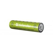 Батарейка солевая Defender R03-4F AAA, в пленке 4 шт