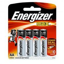 Элемент питания Energizer AA (LR6) Max BL4
