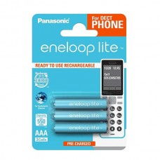 Аккумулятор Panasonic Eneloop BK-4LCCE/3DE 550 mAh AAA, 3шт