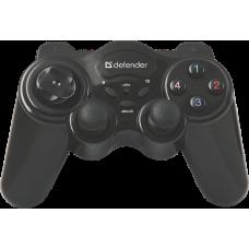 Беспроводной геймпад Defender Game Master Wireless USB, радио, 12 кнопок, 2 стика