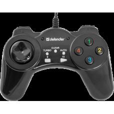 Проводной геймпад Defender Vortex USB