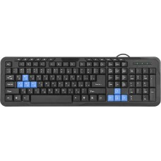 Проводная клавиатура Defender #1 HM-430 RU
