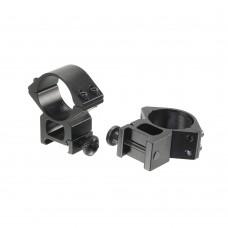 Кольца для прицела Veber 3021 H с окошком 12 мм