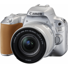 Зеркальный фотоаппарат Canon EOS 200D Kit 18-55 IS STM Silver