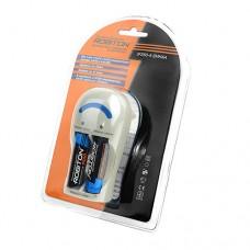 Зарядное устройство Robiton SF250-4 для аккумуляторов AA / AAA + 2 аккумулятора 2500 mAh