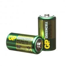 Элемент питания GP C (R14) Greencell (без блистера)