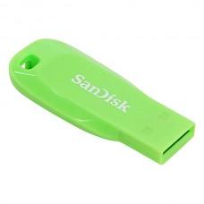 Флеш-накопитель 32GB SanDisk Cruzer Blade Green (SDCZ50C-032G-B35GE)