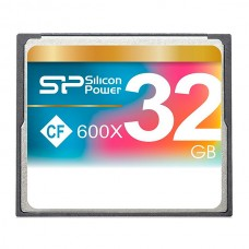 Флеш карта 32GB CF Silicon Power CompactFlash 600x (SP032GBCFC600V10)