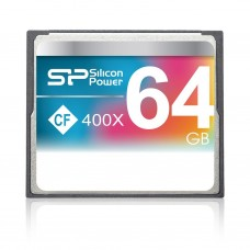 Флеш карта 64GB CF Silicon Power CompactFlash 400x (SP064GBCFC400V10)