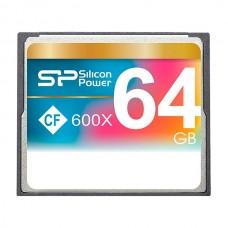 Флеш карта 64GB CF Silicon Power CompactFlash 600x (SP064GBCFC600V10)
