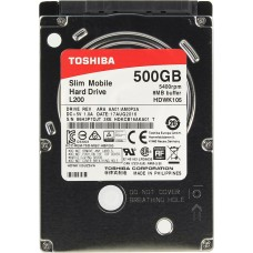 Жесткий диск HDD 500GB Toshiba L200 Slim Mobile (HDWK105UZSVA)