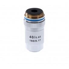 Объектив для микроскопа 40х/0.65 160/0,17 (М1)
