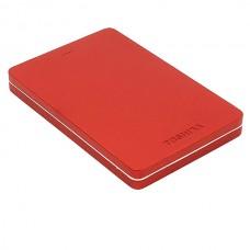 Внешний жесткий диск 500GB Toshiba Canvio Alu 3S красный 2.5 (HDTH305ER3AA)