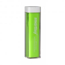 Внешний аккумулятор Smartbuy EZ-BAT зеленый, 2000 mAh