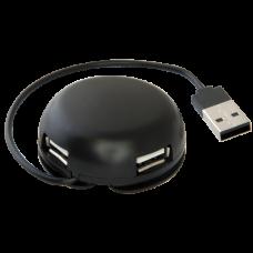 Универсальный USB разветвитель Defender #1 Quadro Light USB 2.0, 4 порта