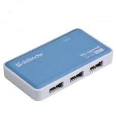 Универсальный USB разветвитель Defender Quadro Power USB 2.0, 4 порта