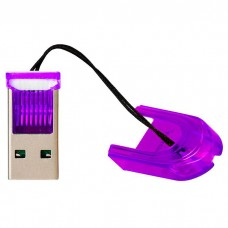 Картридер Smartbuy MicroSD, фиолетовый (SBR-710-F)