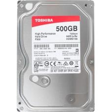 Жесткий диск HDD 500GB Toshiba P300 SATA-III 3.5 (HDWD105UZSVA)