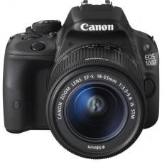 Зеркальный фотоаппарат Canon EOS 100D Kit 18-55 IS STM (черный)