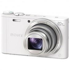 Компактный фотоаппарат Sony Cyber-shot DSC-WX350 (белый)