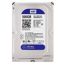 Жесткий диск HDD Western Digital 500GB 3.5 (SATA-III) Blue (WD5000AZLX)
