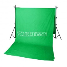Тканевый фон GreenBean Field 2,4 x 5,0 Green