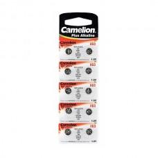 Элемент питания (батарейка/таблетка) Camelion G3(LR41) [щелочная, AG03, AG3, G03, LR736, 192, 392, 384, 1.5 В]