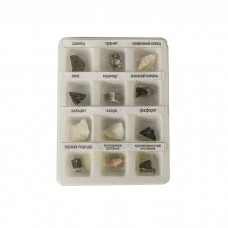 Набор образцов минеральных камней (12 шт.)