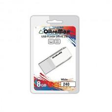 Флеш-накопитель USB 8GB OltraMax 240 белый (OM-8GB-240-White)