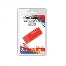 Флеш-накопитель USB 8GB OltraMax 240 красный (OM-8GB-240-Red)