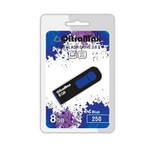 Флеш-накопитель USB 8GB OltraMax 250 синий (OM-8GB-250-Blue)