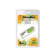 Флеш-накопитель USB 8GB OltraMax 250 зеленый (OM-8GB-250-Green)