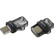 Флеш-накопитель USB 64GB SanDisk Ultra Android Dual Drive OTG (SDDD3-064G-G46)