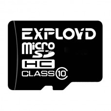 Карта памяти MicroSD 8GB Exployd Class 10 (EX008GCSDHC10-W/A-AD)