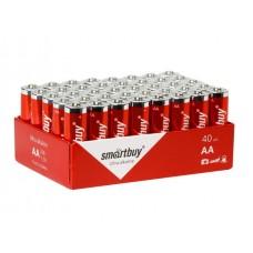 Элемент питания Smartbuy AA (LR6) Bulk 40