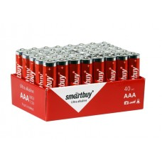 Элемент питания Smartbuy AAA (LR03) 40 bulk