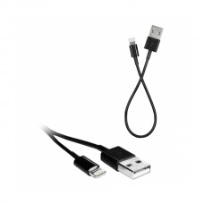 Кабель Mirex USB 2.0 Type A - Lightning 8-Pin, черный