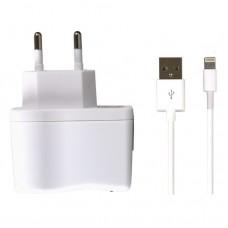 Сетевой адаптер Smartbuy Ez-charge One, белый