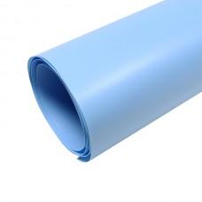 Фон пластиковый FST 0.6 x 1.3 м голубой матовый