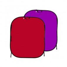 Фон складной Lastolite LL LB6752 красный / фиолетовый 1.8 x 2.15 м