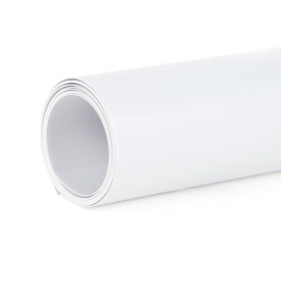 Фон пластиковый FST матовый белый 60x130 см