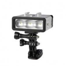 Светодиодный фонарь для дайвинга POV Light (Sidande LED-002) для экшн камер GoPro с креплением