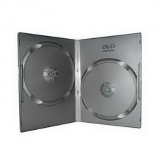 Футляр для 2DVD 7 мм Slim (чёрный глянец) 100 шт