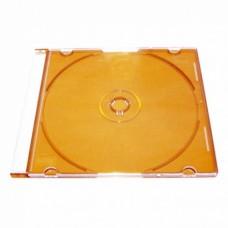 Футляр для 1CD 5 мм Slim (оранжевый) 200 шт