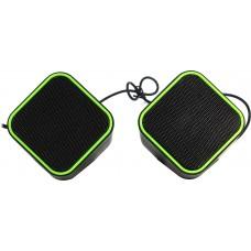 Колонки Smartbuy Cute SBA-2580 черно-зеленые