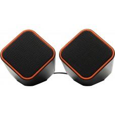 Колонки Smartbuy Cute SBA-2590 черно-оранжевые