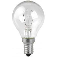 Лампа накаливания ЭРА ДШ40-230-E14-CL