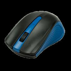 Мышь беспроводная Ritmix RMW-555 черный / голубой