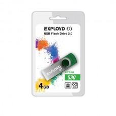 Флеш-накопитель USB 4GB Exployd 530 зеленый (EX004GB530-G)