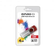 Флеш-накопитель USB 4GB Exployd 530 красный (EX004GB530-R)